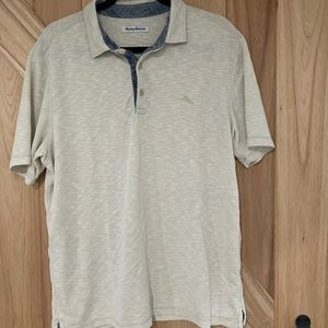 Tommy Bahama Palm Coast Polo - Off White